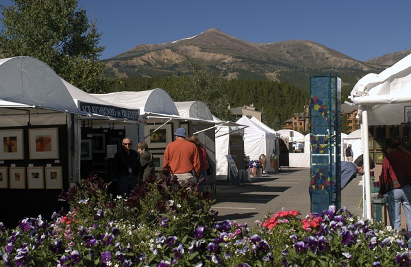 Art Show in Breckenridge