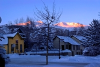 An early morning in Breckenridge